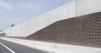 DELTA BLOC realisiert Lärmschutzprojekt an der Autobahn A9