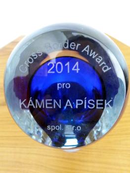 Kámen a písek wins CROSS BORDER AWARD 2014