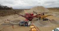 The extraction in the gravel plant in Alkoven begins: It's digging time
