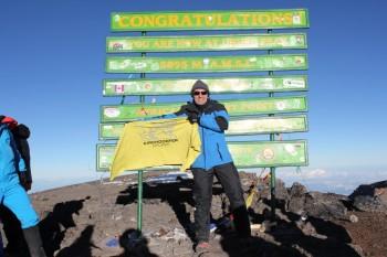 Kirchdorfer erobert den Kilimanjaro