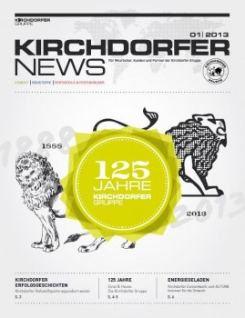 "Kirchdorfer launches a new group magazine, the ""Kirchdorfer News"""
